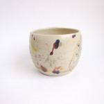 Azzone Alessandra Handmade, blue, ceramics, coffee, colours, cup, pottery, red, stoneware, tea
