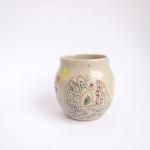 Azzone Alessandra Handmade, ceramics, colorful, stoneware, vase